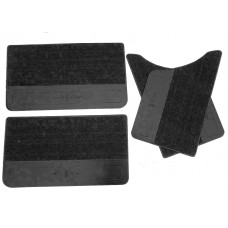 Обивка двери ВАЗ 2101-2106 (кожа-ковролин, пластиковая основа 4 части) ДЭЛ