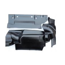 Обивка багажника ВАЗ 2106 (пластик 4 части)