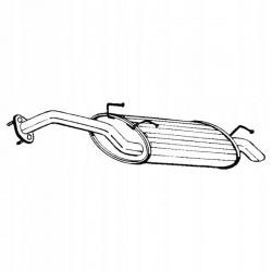 Глушитель Хюндай Акцент (Hyundai Accent) 99-02 (165-153) Bosal алюминизированный