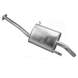 Глушитель Ниссан Террано (Nissan Terrano) 99-06 2.7 Td Turbo Diesel (279-125) Bosal алюминизированный