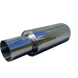 Прямоточный глушитель Unimix UCS315-913-7016-70 с насадкой, из нержавейки универсальный