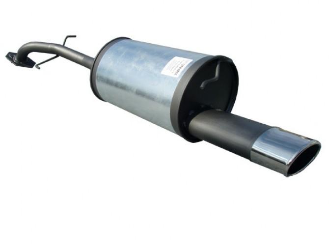 Глушитель прямоточный Шевроле Авео (Chevrolet Aveo) Ф51 седан 1.2-1.6 с 2002 - Unimix