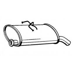 Глушитель Ситроен Берлинго (Citroen Berlingo) / Пежо Партнер (Peugeot Partner) 02-03 (135-707) Bosal 04.222 алюминизированный