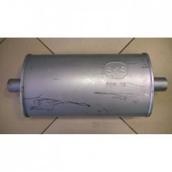 Ремонтный (универсальный) глушитель плоский (длина 490мм, ширина 270мм, высота 130мм) труба D60 (центр) Vito-13.172 аналог Черновцы SKS