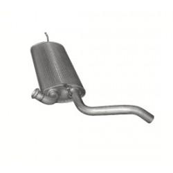 Глушитель Рено Лагуна (RENAULT LAGUNA) III 2.0 D 2007 - (21.40) Polmostrow алюминизированный