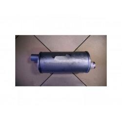 Ремонтный (универсальный) глушитель круглый D54 (длина 340мм, диаметр корпуса 160мм, диаметр входа 54мм) Черновцы SKS
