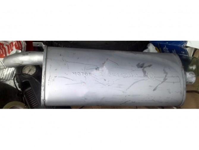 Глушитель Москвич 2141 (36.04) закатной Мотор-Сич