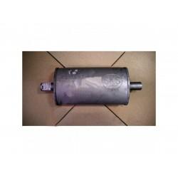 Ремонтный (универсальный) глушитель плоский (длина 340мм, ширина 190мм, высота 100мм) труба D42 Черновцы SKS