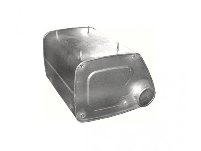 Глушитель MAN F2000 19.293/343F/FL/FLL 26.293/343FLL 19.403 06/85- (68.21) Polmostrow алюминизированный
