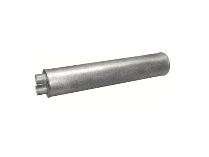 Глушитель Mercedes 709 din 50372 (Розміри: 203mm ;L=1050mm) (69.37) Polmostrow алюминизированный