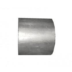 Труба промежуточная SCANIA 143 ; 113 ; 93 (71.12) Polmostrow алюминизированный