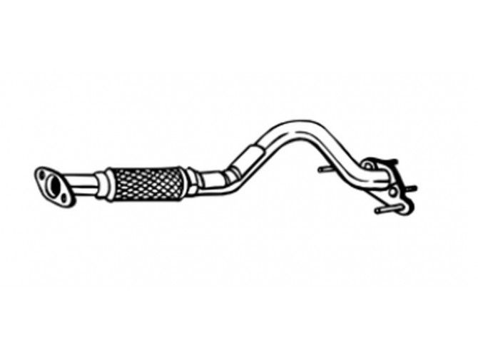 Труба приемная Хюндай Гетз (Hyundai Getz) 02-09 (750-073) Bosal 10.67 алюминизированный