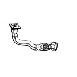 Труба приемная Сиат Толедо (Seat Toledo)/Фольксваген Гольф 3, Пассат Б3/Б4, Венто 3 (Volkswagen Golf III, Passat B3/B4, Vento III) (753-177) Bosal 30.342 алюминизированный