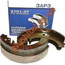 Колодка тормозная задняя 2101, 2105, 2107 (ЗАРЗ, Запорожье)