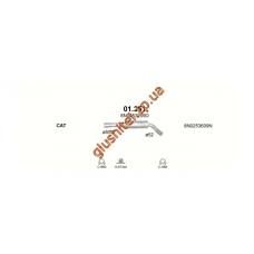Резонатор Ауди TT (Audi TT) 1.8T Turbo 98-06 (01.251) Polmostrow алюминизированный