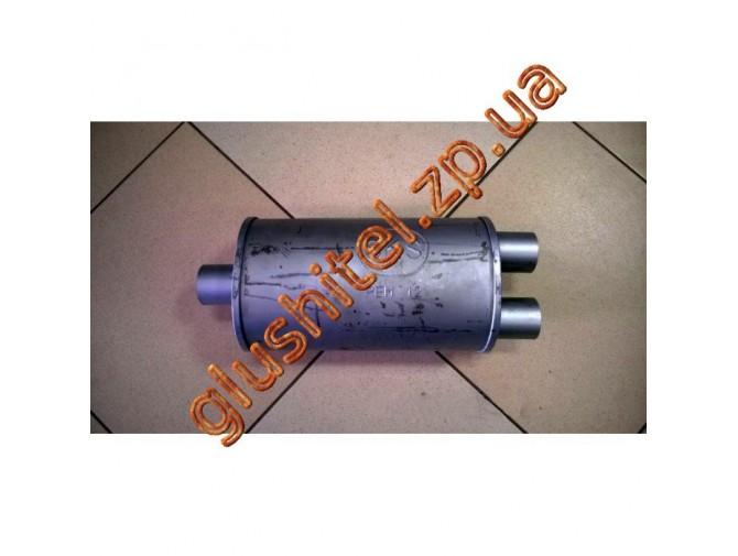 Резонатор универсальный плоский (длина 340 мм, ширина 190 мм, высота 170 мм) D60 Omega-17.31 (аналог) Черновцы SKS