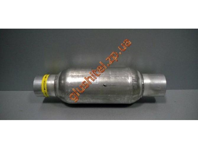 Стронгер (пламегаситель) в корпусе катализатора круглый 50х300 AWG