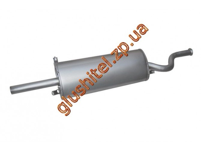 Глушитель ВАЗ 2108 (11.05) закатной Польша Polmostrow алюминизированный