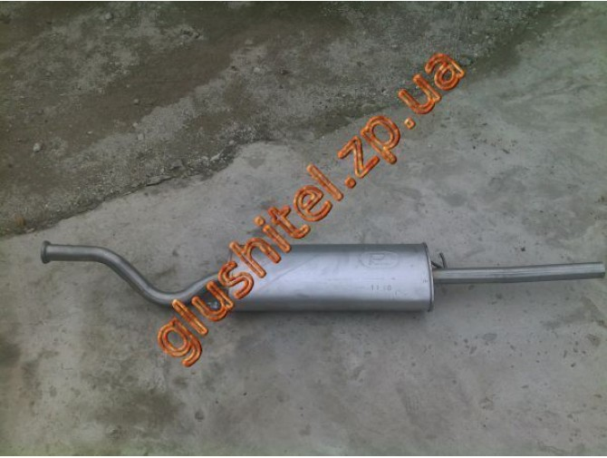Глушитель ВАЗ 2110 до 2006 года (2110-1201009) / Polmo 11.16 алюминизированный Bosal