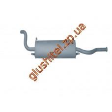 Глушитель ВАЗ 2114 (11.64) закатной Польша Polmostrow алюминизированный