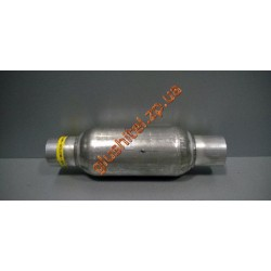 Стронгер (пламегаситель) в корпусе катализатора круглый 45х300 AWG