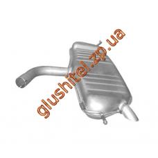 Глушитель Фольксваген Туран (Volkswagen Touran) 1.6I 07 / 03-05 / 08 (30.150) Polmostrow алюминизированный