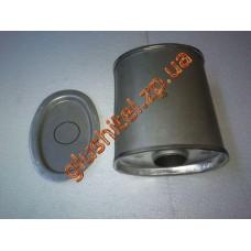 Резонатор универсальный плоский D.302/50 (Длинна 300мм, ширина 170мм, высота 100мм, диаметр входа 50мм)