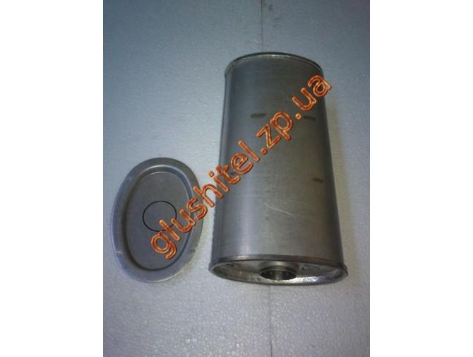 Резонатор универсальный плоский D.304/45 (Длинна 400мм, ширина 170мм, высота 100мм, диаметр входа 45мм)