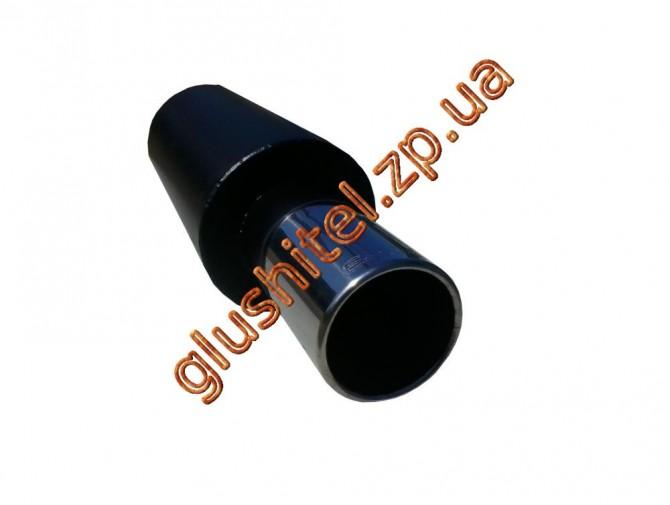 Прямоточный глушитель Unimix 315-714-7017-70 с насадкой из нержавейки универсальный
