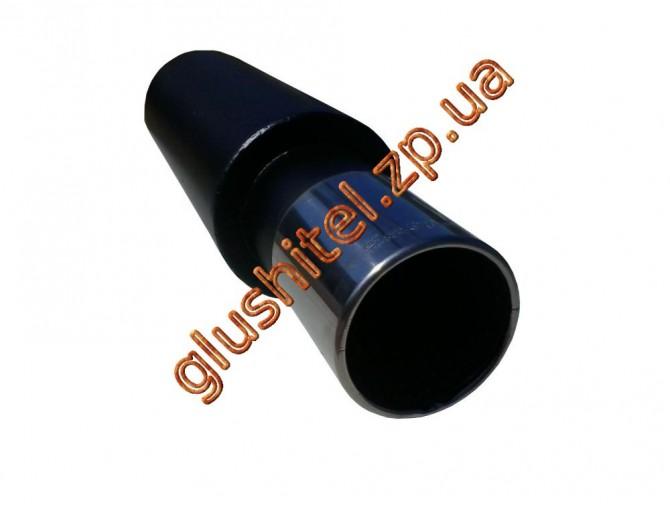 Прямоточный глушитель Unimix 315-714-7016-54 с насадкой из нержавейки универсальный