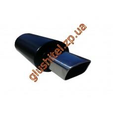 Прямоточный глушитель Unimix 316-716-7126-50 с насадкой из нержавейки универсальный