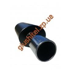 Прямоточный глушитель Unimix 316-714-7016-54 с насадкой из нержавейки универсальный