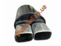 Прямоточный глушитель Unimix 316-794-7128-60 с насадкой из нержавейки универсальный