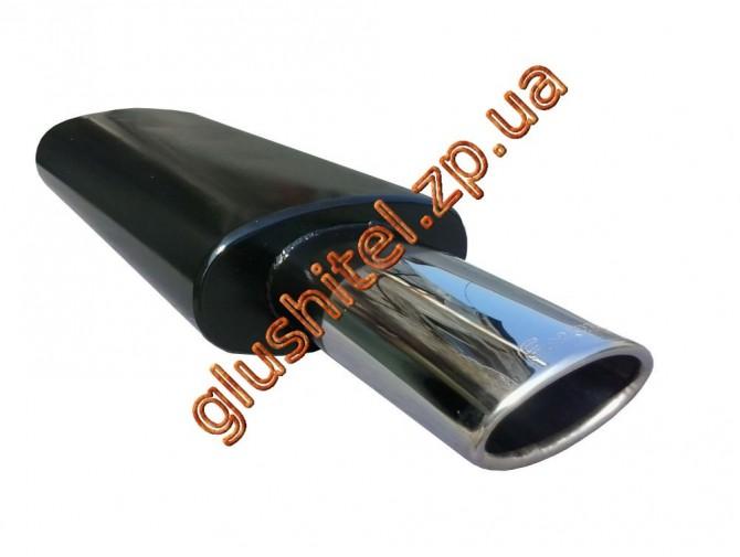 Прямоточный глушитель Unimix 320-714-7227-60 с насадкой из нержавейки универсальный