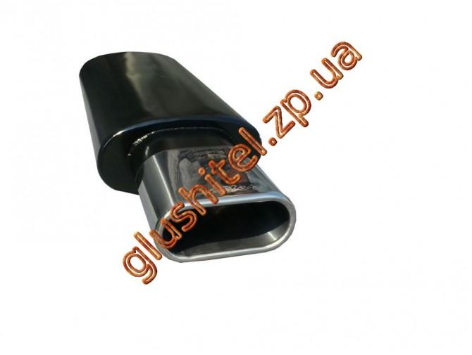 Прямоточный глушитель Unimix 320-714-7316-50 с насадкой из нержавейки универсальный