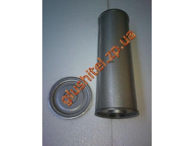 Резонатор универсальный круглый D.324/60 (Длинна 400мм, диаметр корпуса 130мм, диаметр входа 60мм)