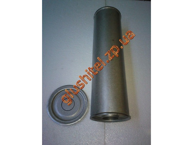 Резонатор универсальный круглый D.326/45 (Длинна 500мм, диаметр корпуса 130мм, диаметр входа 45мм)