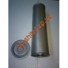 Резонатор универсальный круглый D.326/60 (Длинна 500мм, диаметр корпуса 130мм, диаметр входа 60мм)