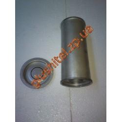 Резонатор универсальный круглый D.332/50 (Длинна 300мм, диаметр корпуса 100мм, диаметр входа 50мм)