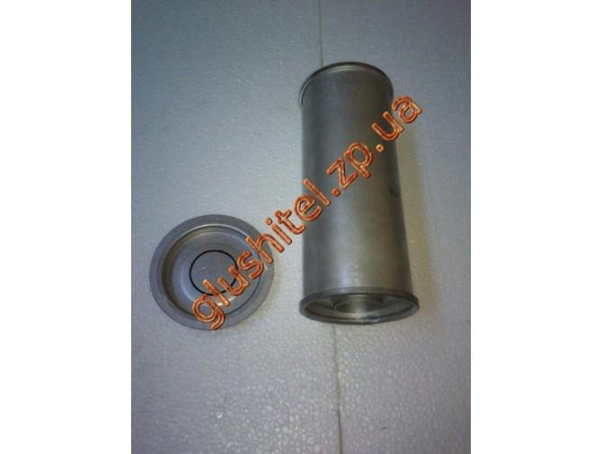 Резонатор универсальный круглый D.331/45 (Длинна 250мм, диаметр корпуса 100мм, диаметр входа 45мм)