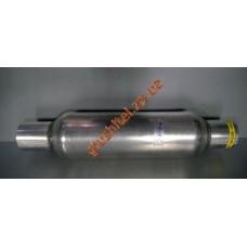 Стронгер (пламегаситель) в корпусе катализатора круглый 45х400 AWG