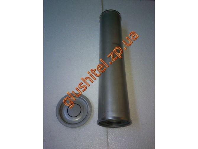 Резонатор универсальный круглый D.336/60 (Длинна 500мм, диаметр корпуса 100мм, диаметр входа 60мм)