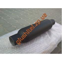 Резонатор прямоточный 55-300 REZONATOR алюминизированный