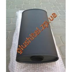 Прямоточный глушитель 60/200 MUFFLER алюминизированный