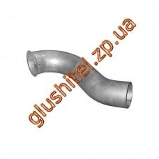 Труба выхлопная DAF (ДАФ) XF 95/CF 85/CF 75/CF 65/95/95 XF/ (61.176) Polmostrow алюминизированный