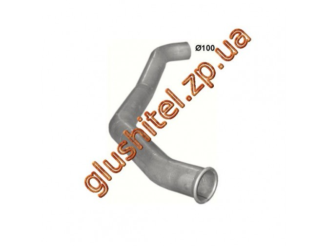 Труба выхлопная MAN 13/14 T din 47626 (68.31) Polmostrow алюминизированный