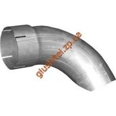 Труба выхлопная Man TGA/TGS (68.624) Polmostrow алюминизированный