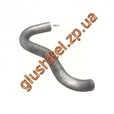 Труба выхлопная Mercedes LK din 52709 (69.01) Polmostrow алюминизированный