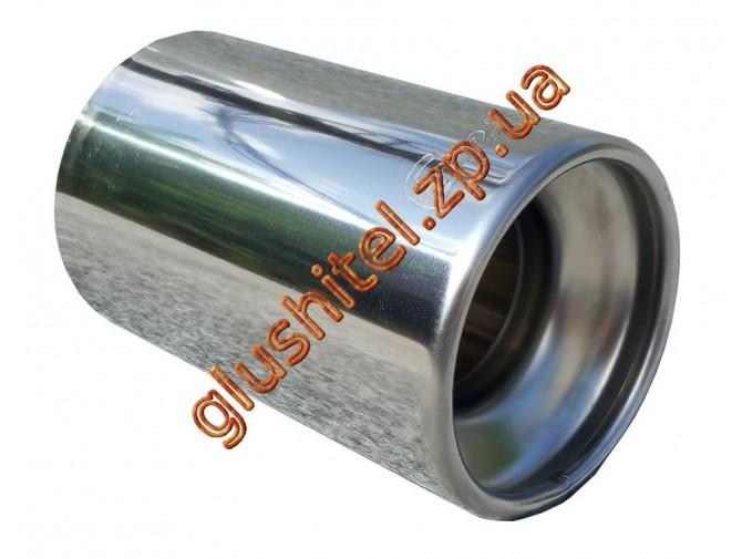 Насадка глушителя Unimix 7017-76 нержавейка