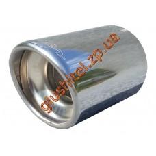 Насадка глушителя Unimix 7027-76 нержавейка